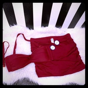Swimsuits For All Valentine Skirtini 14/16